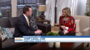W. Mark Jump on local television news